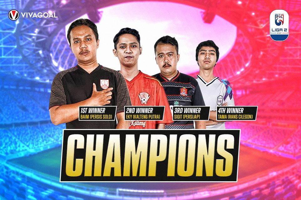 Juara IFeL Liga 2, Persis Solo Berjaya!