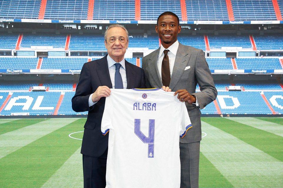 David Alaba Warisi Nomor Punggung Sergio Ramos di Real Madrid