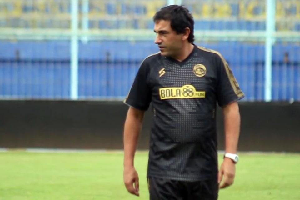 Pelatih Arema: Pertandingan Merupakan Nyawa Sepakbola Yang Sesungguhnya