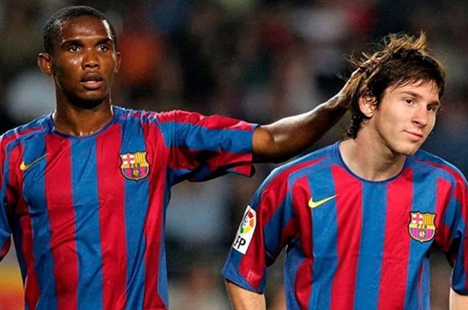 Eto'o: Messi Bermain dengan Saya, Bukan Saya Bermain dengan Messi