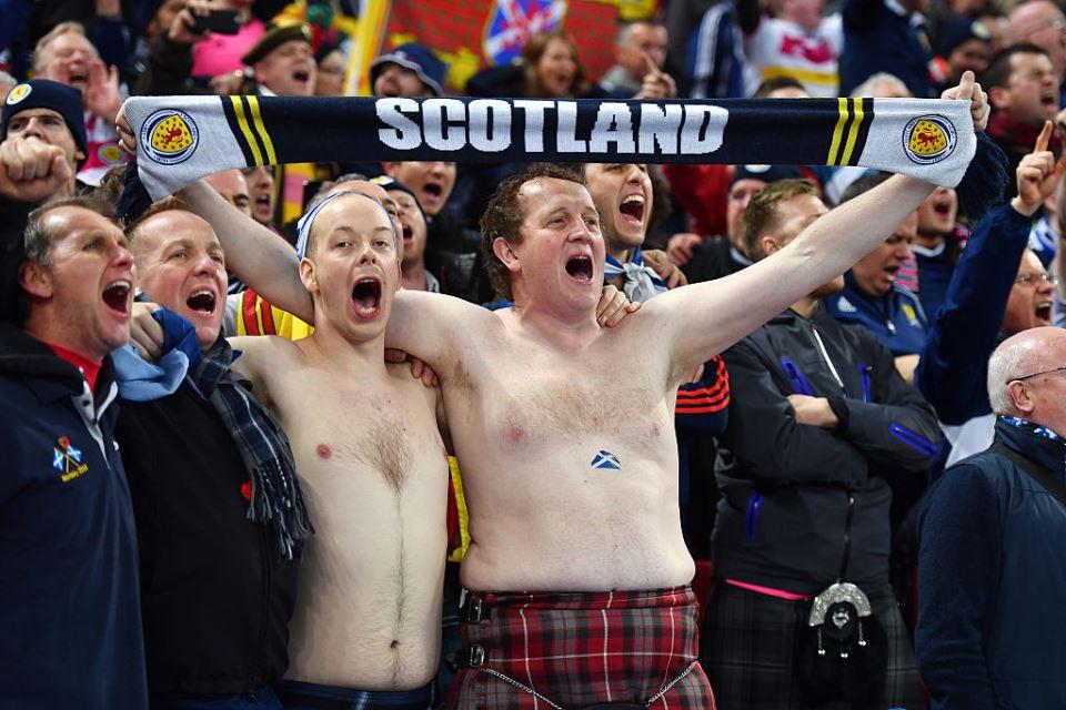 Inggris Bisa Keringat Dingin, Italia Dapat Dukungan Penuh Fan Skotlandia