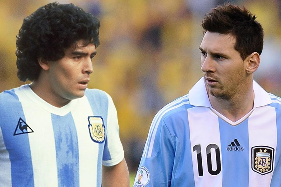 Lionel Messi Menderita Karena Terus Dibandingkan dengan Diego Maradona