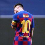 Messi Nomor 10 Barca