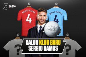 Ramos - 5 Fakta Calon Klub Baru Sergio Ramos, Pilih Mana?