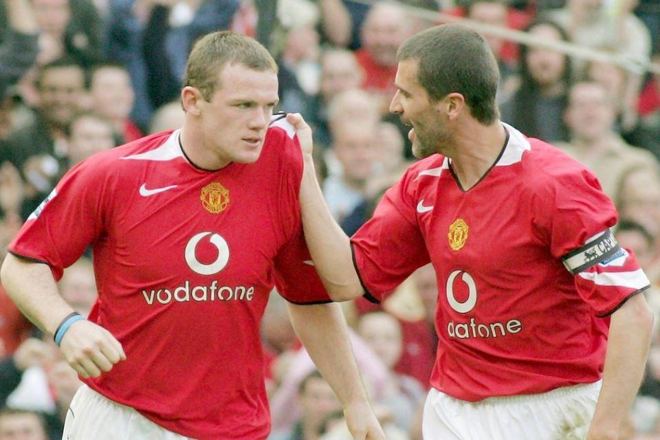 Roy Keane Man United Rooney