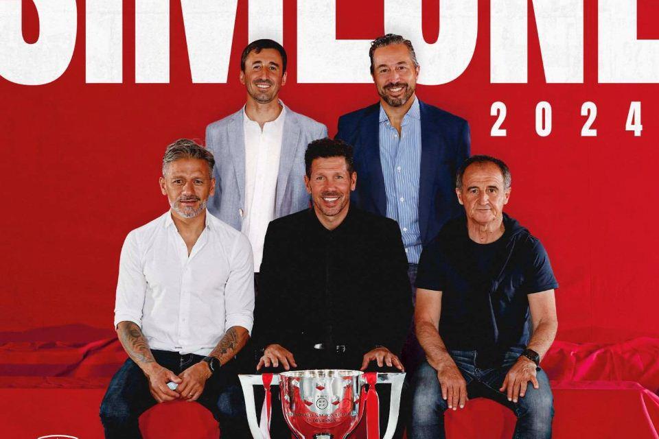Setia! Diego Simeone Perpanjang Kontra di Atletico Madrid