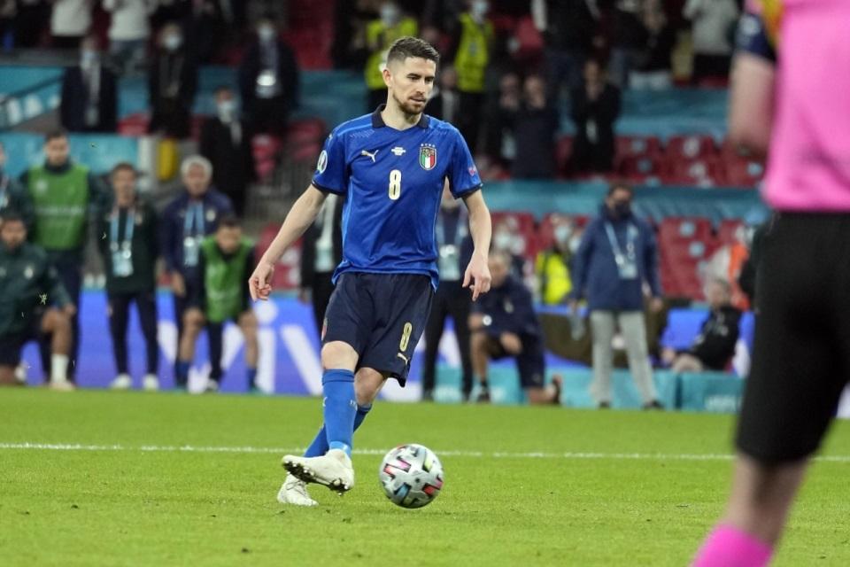 Soal Penaltinya Gagal di Euro, Jorginho: Sengaja, kan Ada Donnarumma