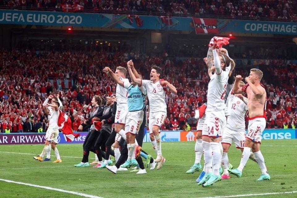 Tekad Denmark Kalahkan Inggris dan Bikin Menangis 52 Ribu Publik Wembley