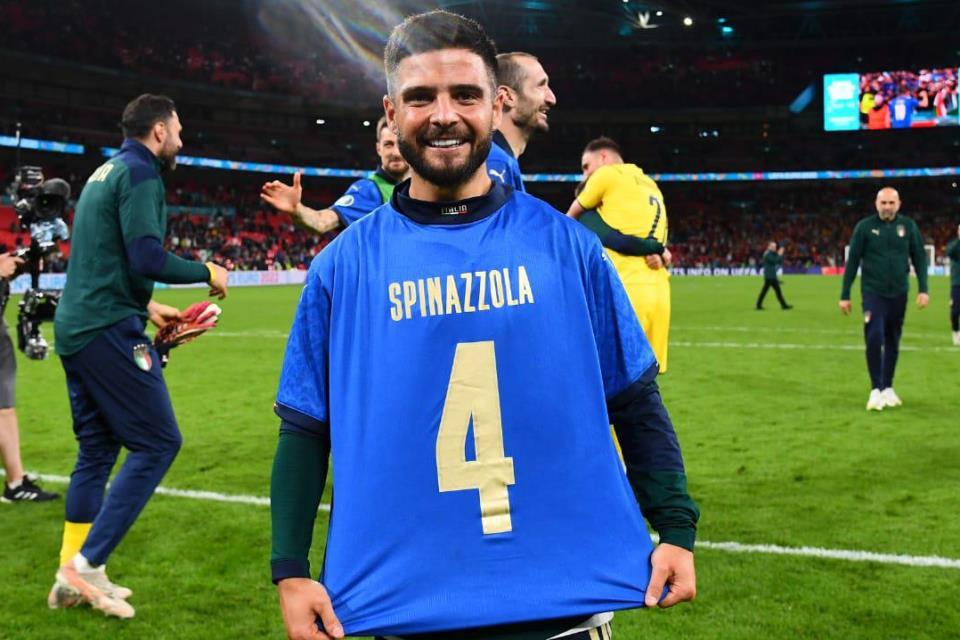 Kemenangan Italia Atas Spanyol Dipersembahkan untuk Leonardo Spinazzola