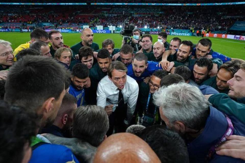 Begini Pidato Emosional Mancini Yang Bakar Semangat Italia