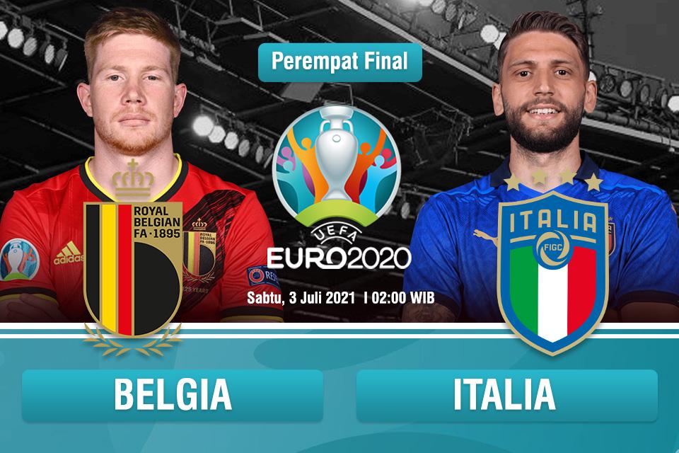 Prediksi Belgia vs Italia: Final Kepagian Jilid II