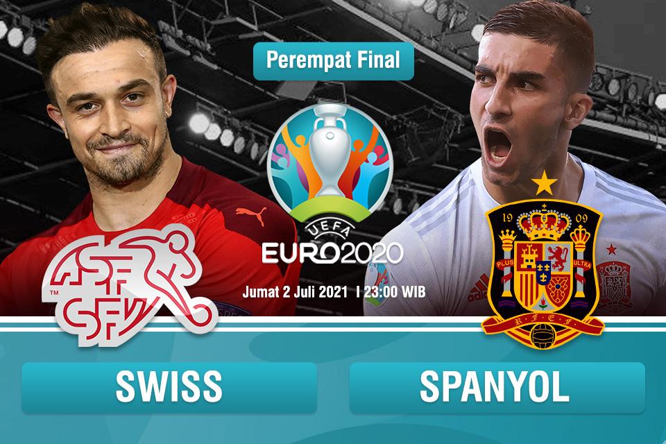 Prediksi Swiss vs Spanyol: Mengulang Keajaiban?