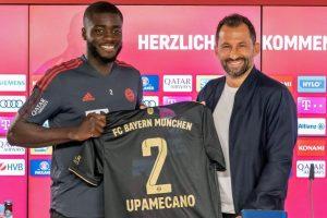 Upamecano Bayern