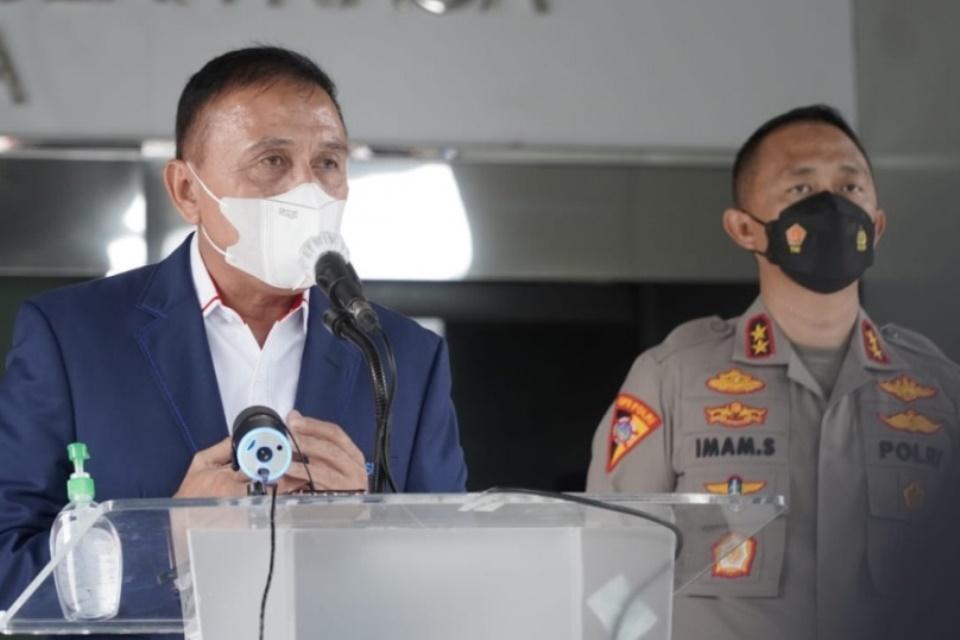 Ketum PSSI: Izin Liga 1 2021-2022 sudah Clear!