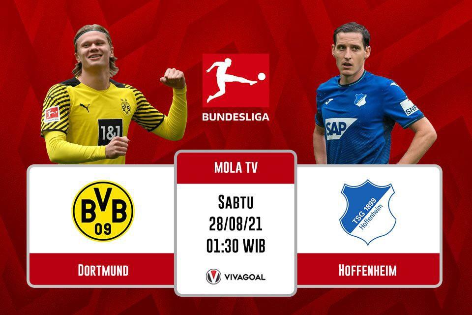 Borussia Dortmund vs Hoffenhiem : Prediksi dan Link Live Streaming