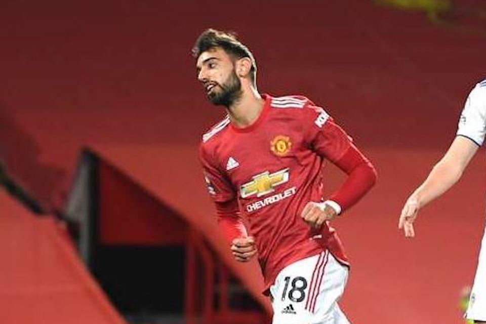 Komentar Berkelas Fernandes Usai Cetak Trigol di Pesta Gol Man United