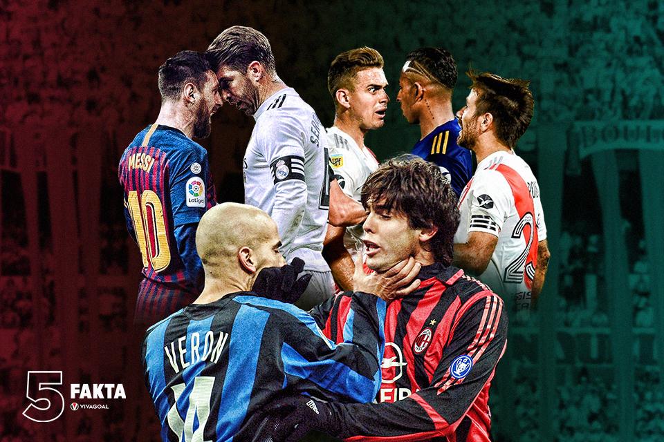 5 Rivalitas terpanas di Jagad Sepakbola