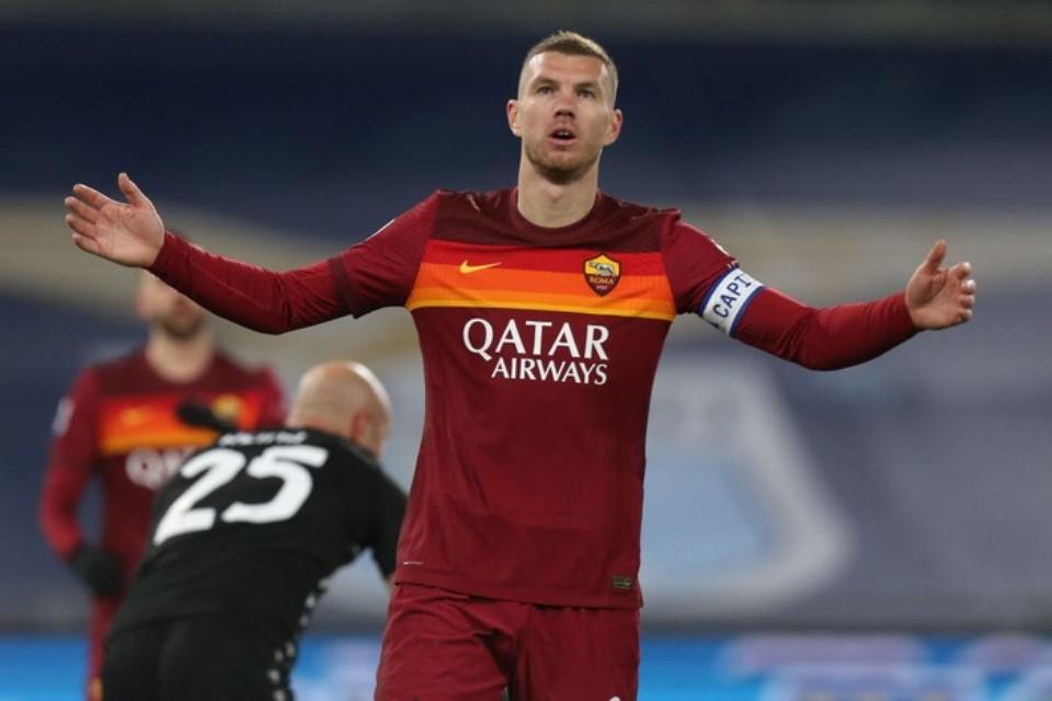 Edin Dzeko Jadi Bagian Transfer Segitiga Chelsea, Inter Milan dan AS Roma