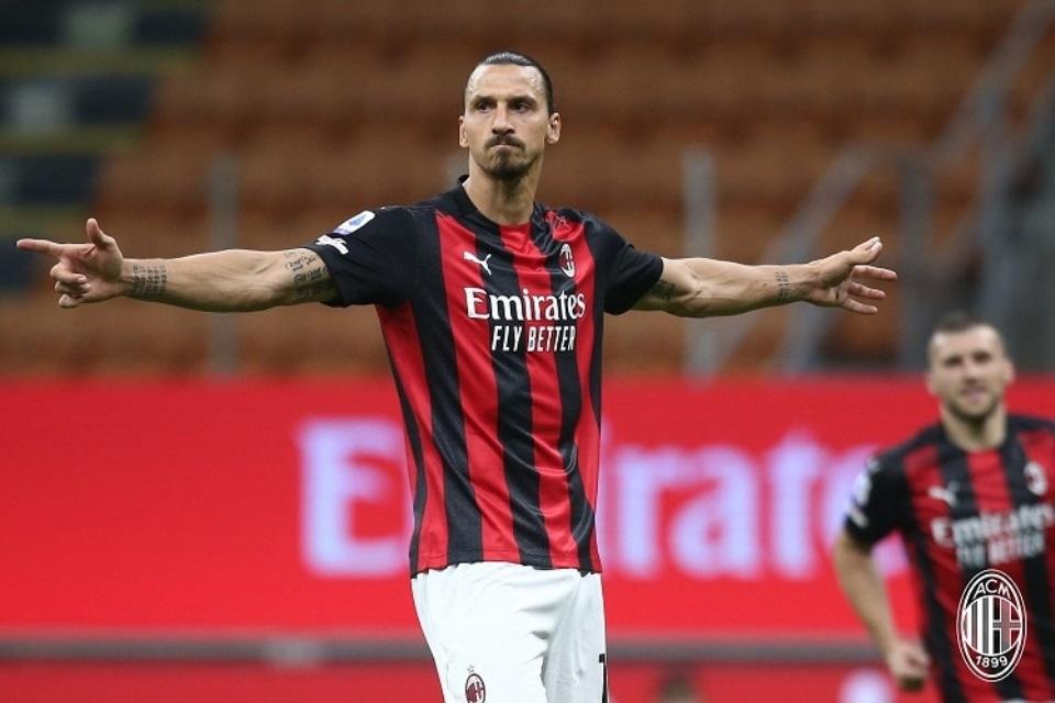 Ibrahimovic Jadi Motivator Ulung Buat Para Pemain Muda AC Milan