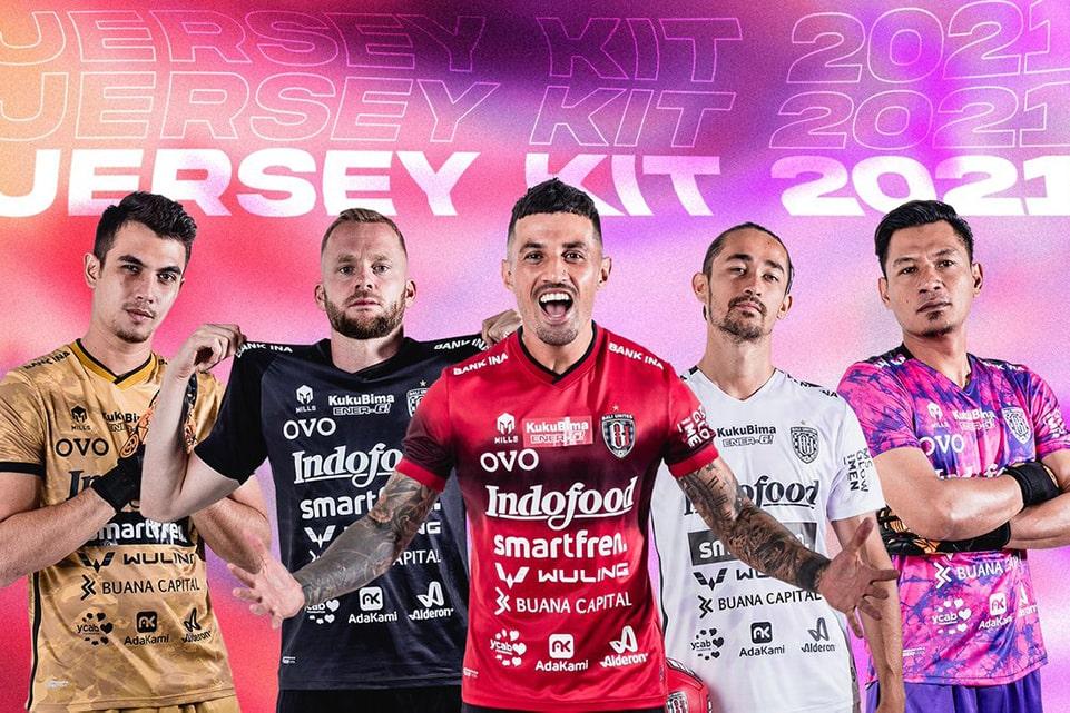 Usung Nuansa Tie Dye, Bali United Beri Semangat Kepada UMKM