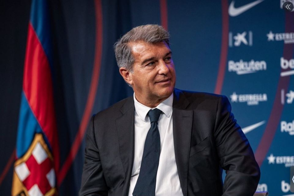 Soal Krisis di Barcelona, Laporta Semprot Presiden Terdahulu