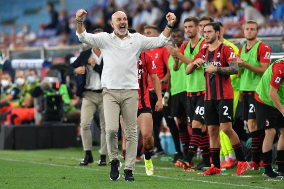 Menang di Laga Pembuka Liga Italia, Pioli: AC Milan Kini Lebih Siap