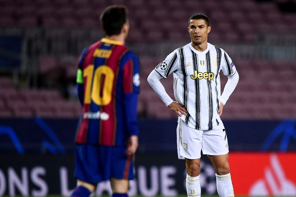 Messi Disarankan Main Bareng Ronaldo Saja di Juventus