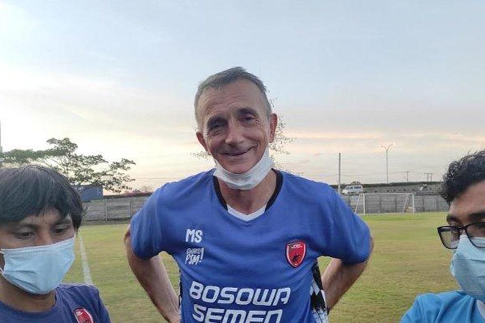 Milomir Seslija Optimis Atas Peningkatan Pemain PSM Makassar