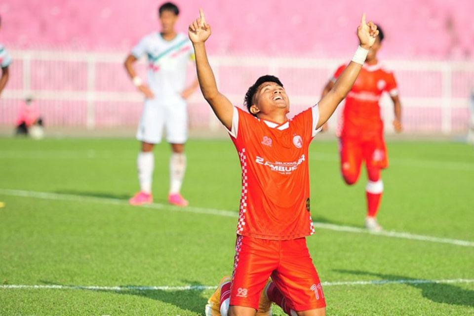 Natanael Siringoringo cetak Brace di Liga Malaysia