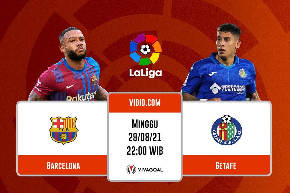 Barcelona vs Getafe: Prediksi dan Link Live Streaming