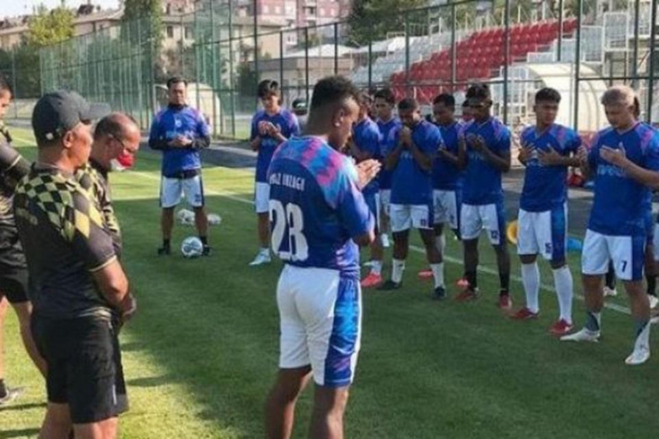 Latihan di Turki, Cilegon FC Disanjung Teco