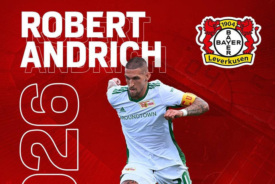 Leverkusen Hadirkan Pemain Matang dari Union Berlin