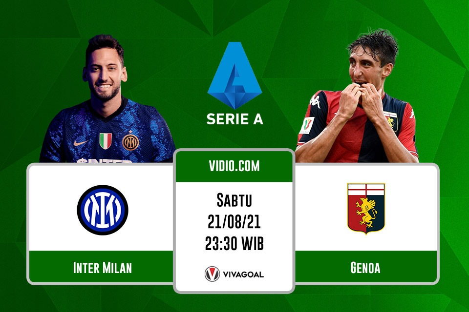 Inter Milan vs Genoa: Prediksi dan Link Live Streaming