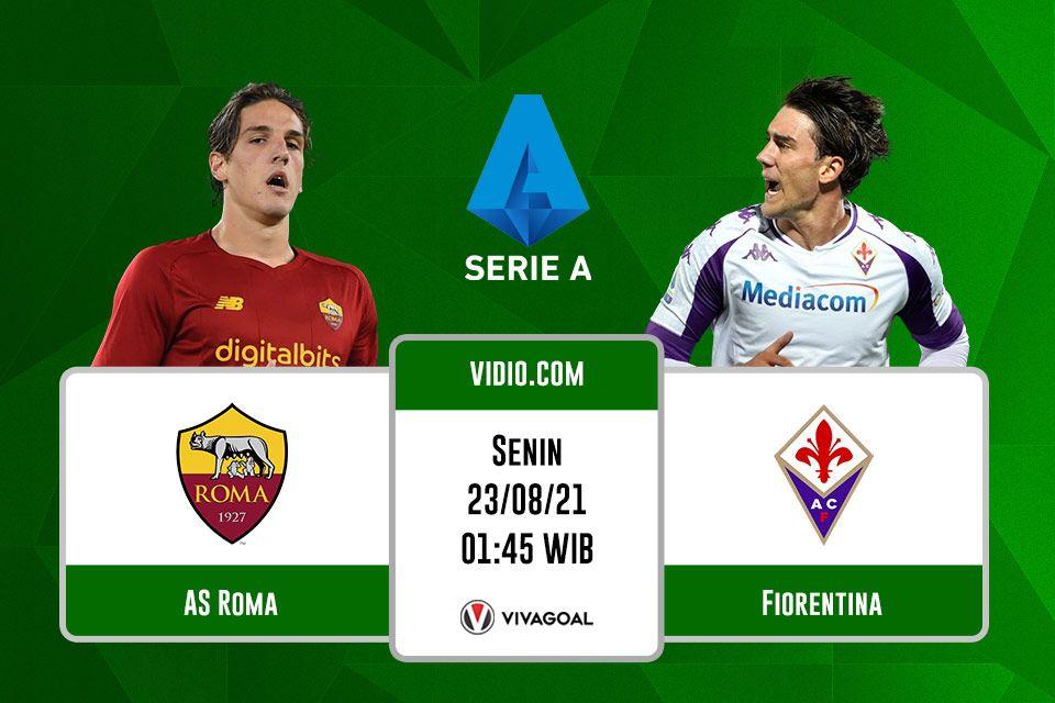 AS Roma vs Fiorentina: Prediksi dan Link Live Streaming