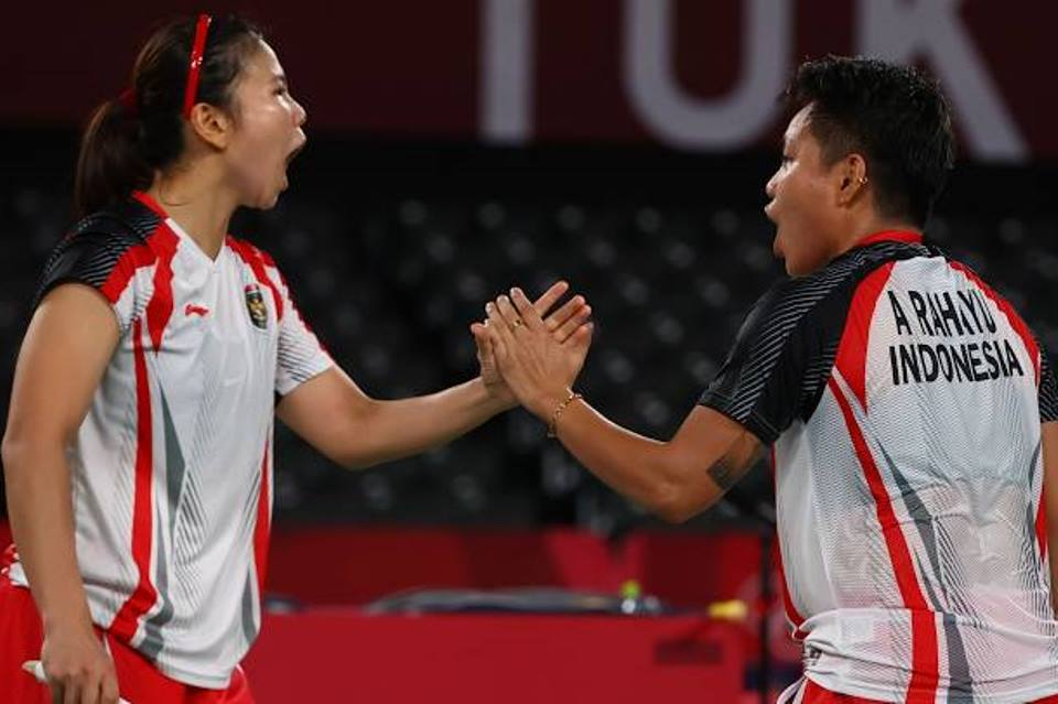 Cetak Sejarah, Greysia/Apriyani Sumbang Emas Perdana Ganda Putri Indonesia di Olimpiade