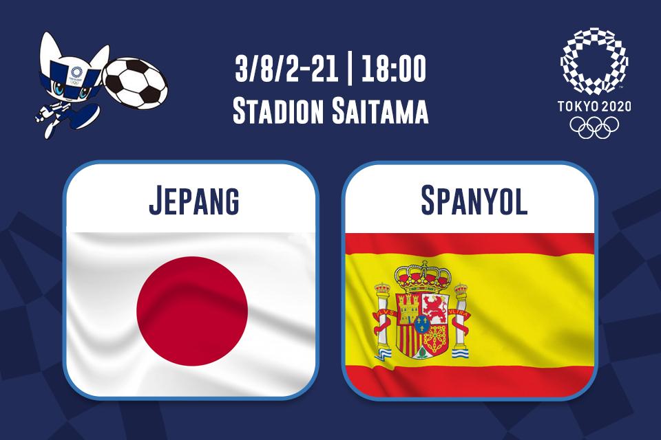 Jepang Vs Spanyol: Prediksi dan Link Live Streaming