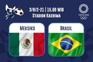 Meksiko Vs Brasil: Prediksi dan Link Live Streaming