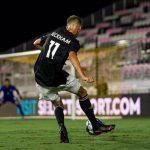 Romeo Beckham Debut