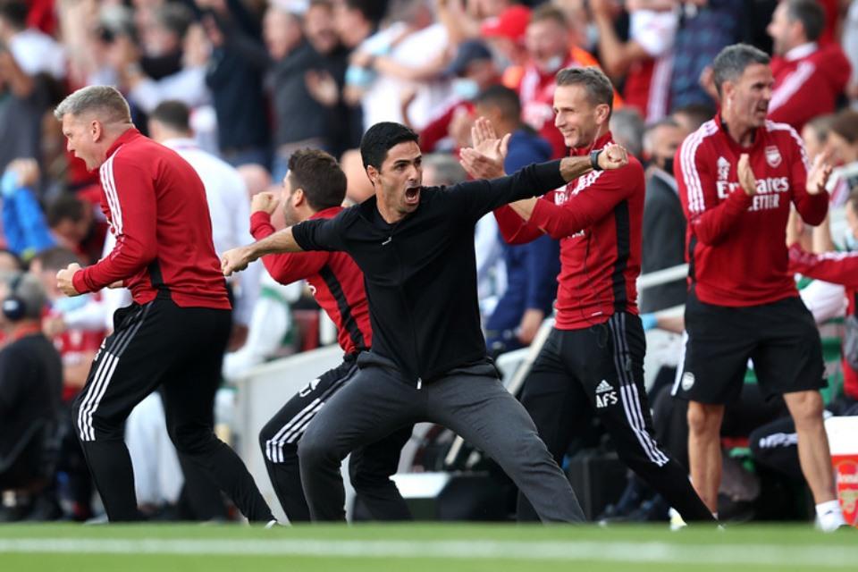 Arsenal Libas Tottenham, Arteta; Kemenangan Ini untuk Fans