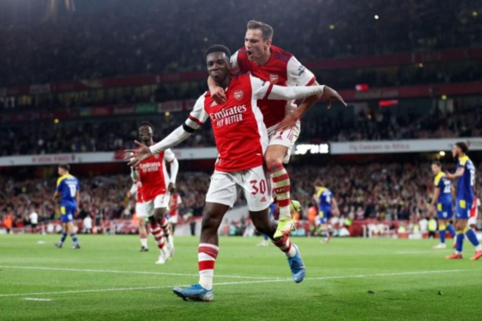 Arteta Puji Eddie Nketiah, Katanya Patut Dicontoh Semua Pemain Arsenal