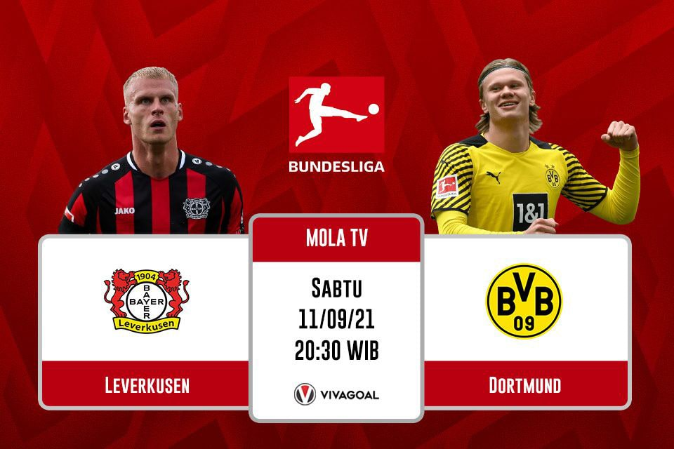 Bayer Leverkusen vs Borussia Dortmund: Prediksi dan Link Live Streaming