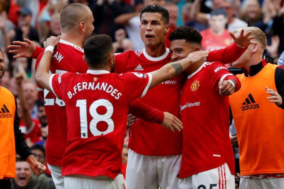 Cetak Dua Gol di Laga Debut, Ronaldo: Man United Juara EPL dan Liga Champions