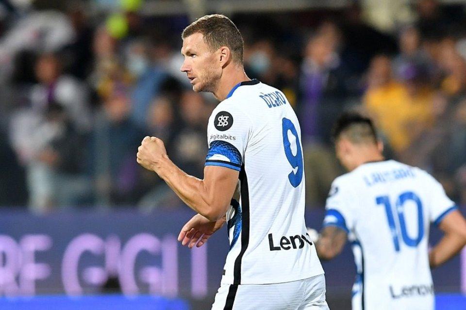 Didatangkan Gratis, Edin Dzeko Terus Tampil Mengigit di Inter Milan