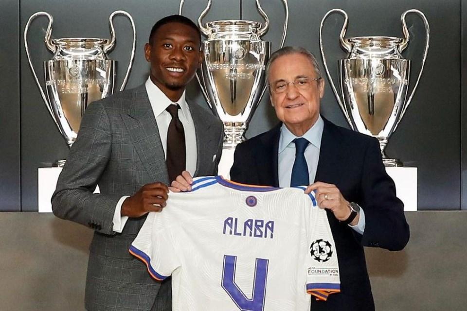 Gara-gara Aturan La Liga, Alaba Terpaksa Kenakan Nomor Sergio Ramos