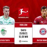 Greuther Furth vs Bayern Munich: Prediksi Dan Link Lie Streaming