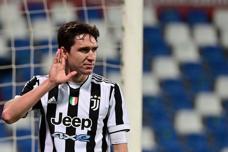 Kurang Fit, Federico Chiesa Absen di Laga Juventus vs Napoli