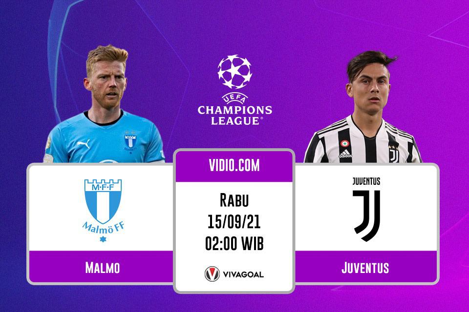 Malmo vs Juventus: Link dan Prediksi Pertandingan