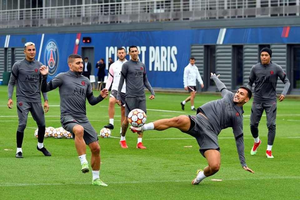 PSG vs Man City: Marco Verrati dan Messi Masuk Skuad