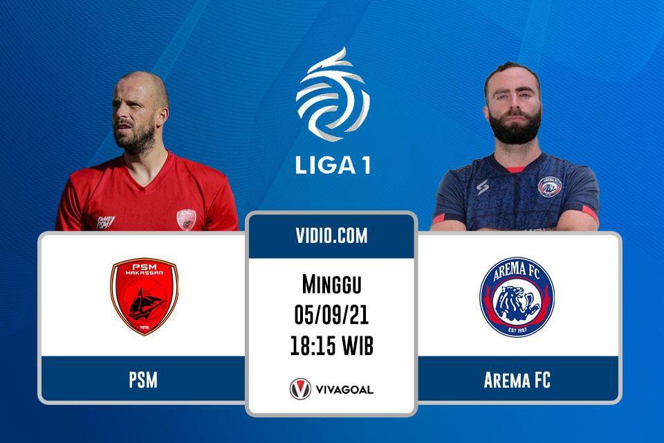 PSM vs Arema FC: Prediksi dan Link Live Streaming