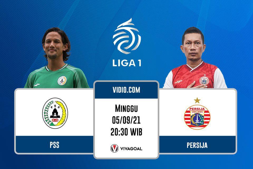 PSS Sleman vs Persija Jakarta: Prediksi dan Link Live Streaming